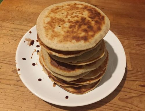 Clătite americane sau pancakes fără gluten