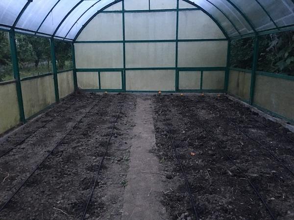 Solar pregătit pentru cultivare